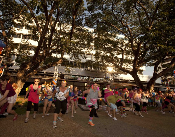 Fun Run – Darwin Festival 2011. © Image by Glenn Campbell.