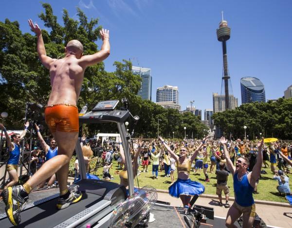 Fun Run – Sydney Festival 2013. © Image by Jamie Williams.