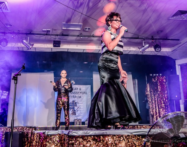 Miss Gay and Miss Trans Australia – Midsumma Festival 2015. © Image by Brony Jackson.