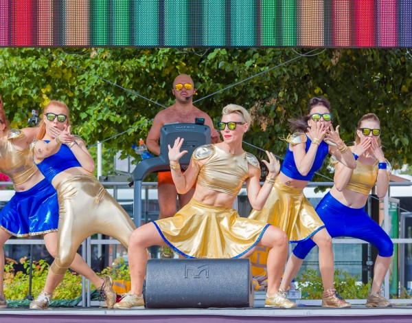 Fun Run – ANTI Contemporary Arts Festival 2015. © Image by Pekka Mäkinen.