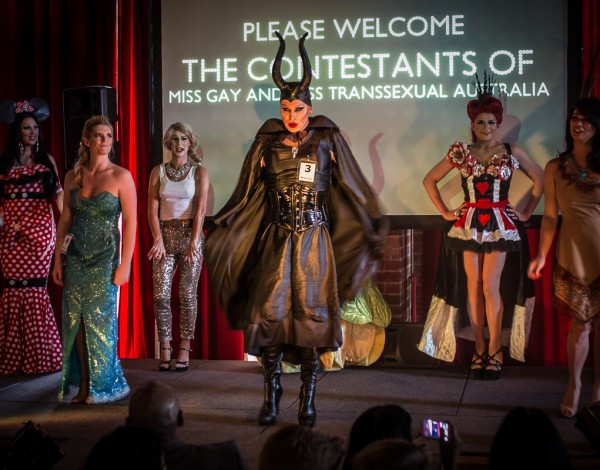 Miss Gay and Miss Trans Australia – Midsumma Festival 2016. © Image by Bryony Jackson.