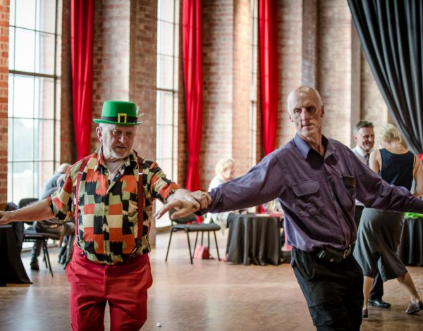 LGBTI elders dance club + end of year party – The Substation. © Image by Bryony Jackson.