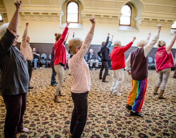 New Moves High Tea – Victorian Seniors Festival 2016. © Image by Bryony Jackson.