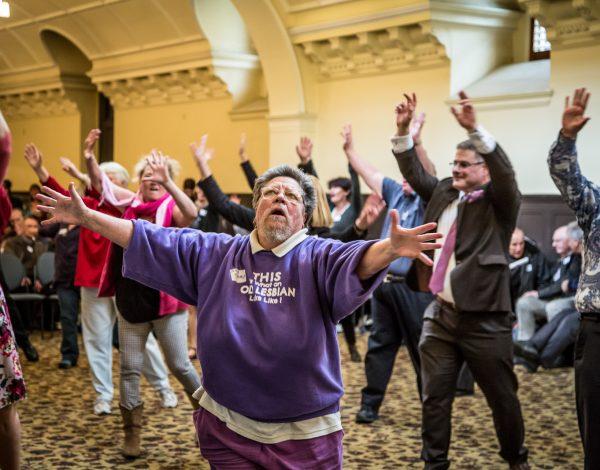 New Moves High Tea – Victorian Seniors Festival 2016. © Image by Bryony Jackson.