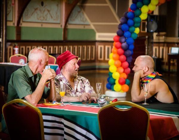 The LGBTI Elders Dance Club – Fitzroy Town Hall. © Image by Bryony Jackson.