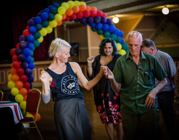 The LGBTI Elders Dance Club. © Image by Bryony Jackson.