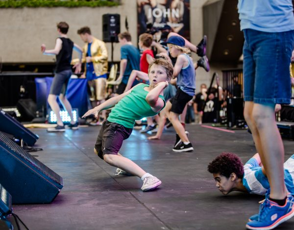 Fun Run – Presented by Arts Centre Melbourne © Image by Bryony Jackson.